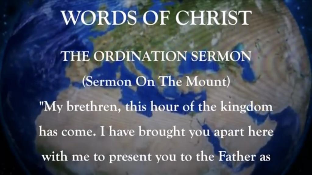 The Sermon on the Mountain