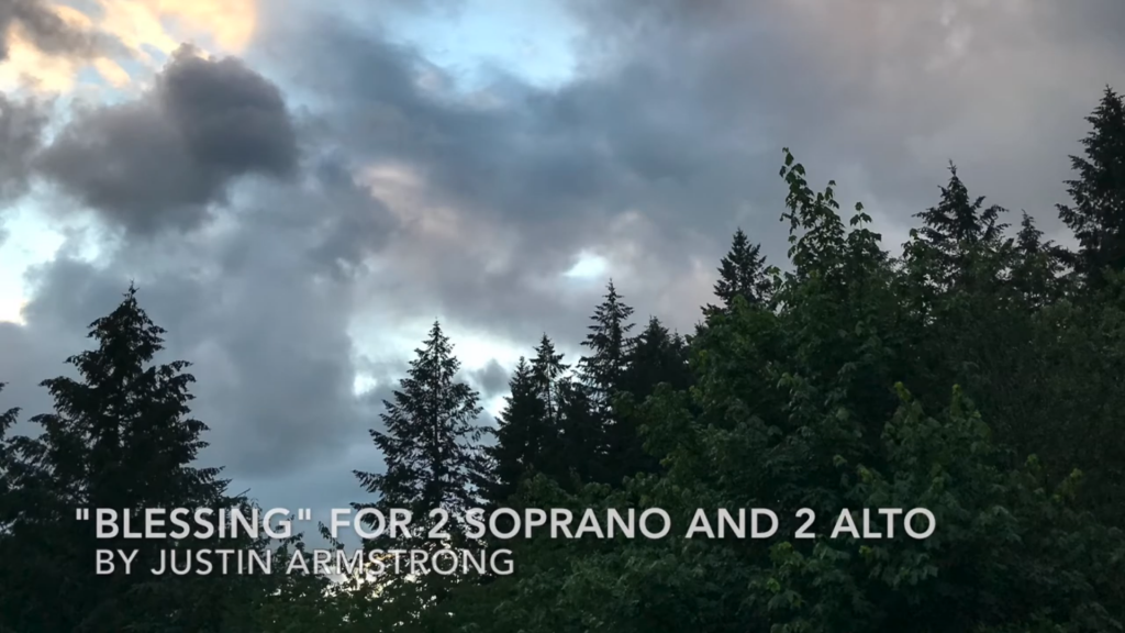 Blessing for 2 Soprano and 2 Alto