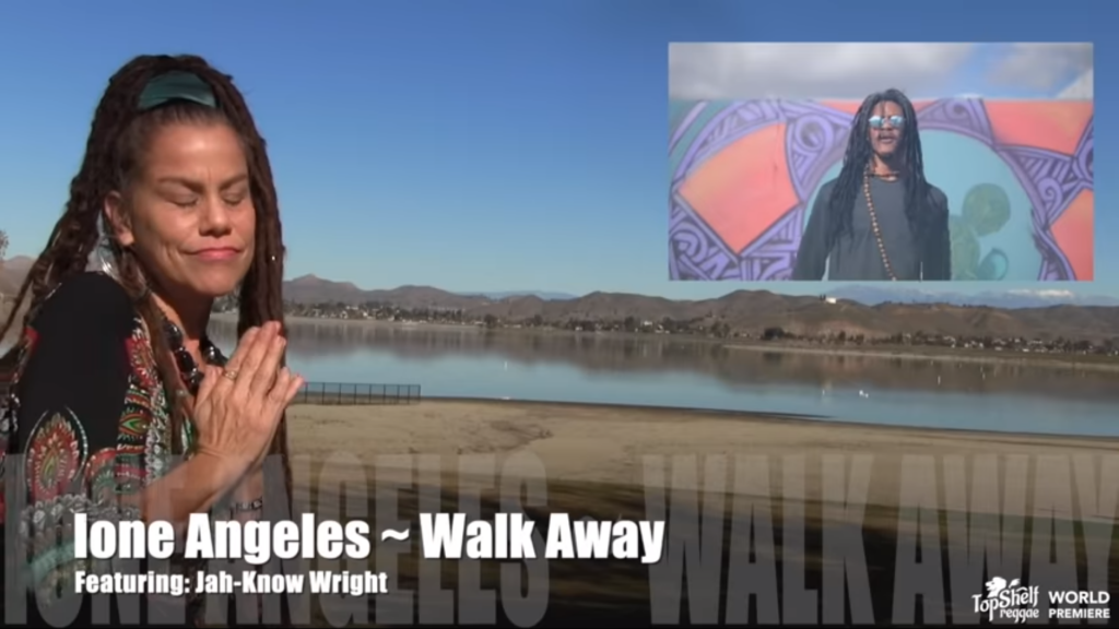 Ione Angeles - Walk Away feat. Jah-Know Wright [OFFICIAL VIDEO]