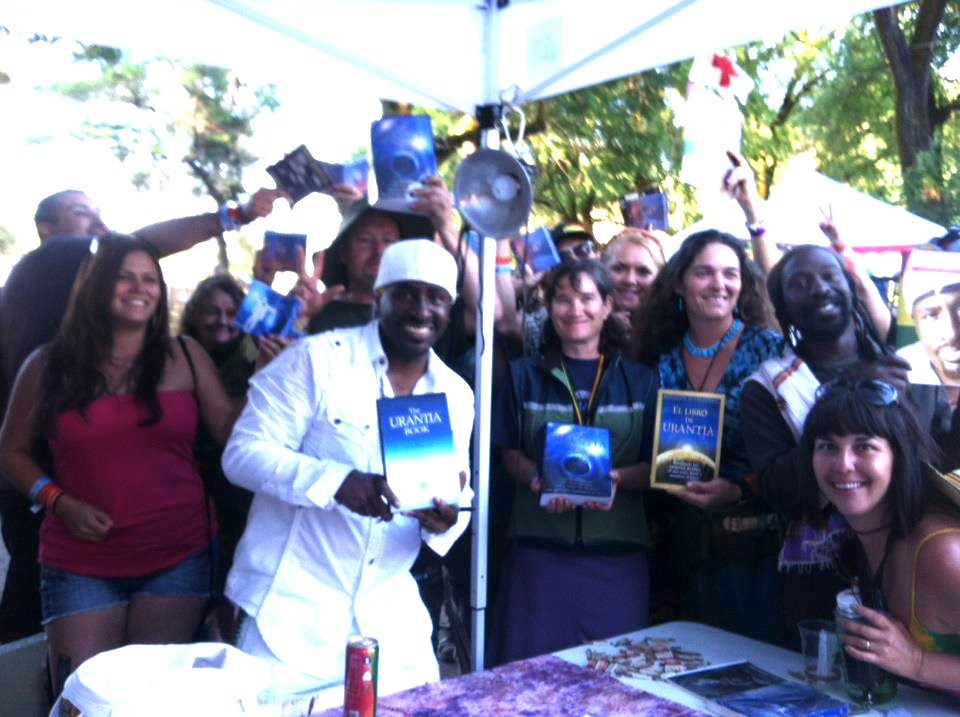 Truthseekers with new Urantia Books!