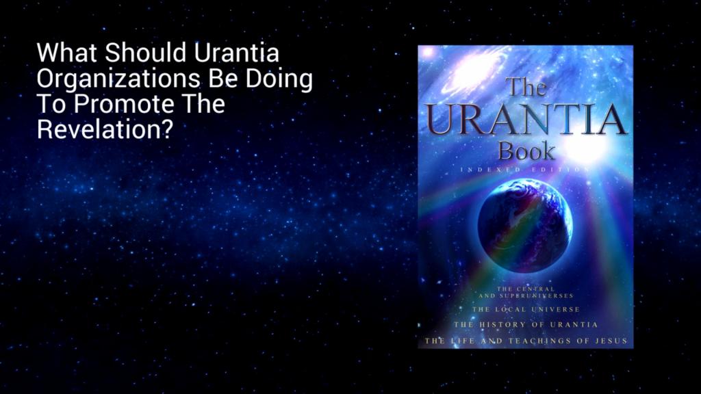 The Urantia Community - What do we do now